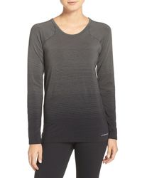 Brooks - Gray Drilayer Top - Lyst