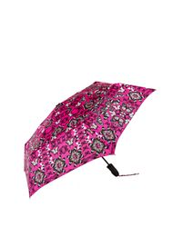 Shedrain - Pink Printed Folding Umbrella - Lyst