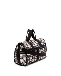 LeSportsac - Black Nylon Cr Large Weekend Bag - Lyst