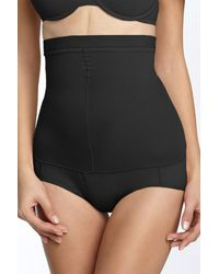 Spanx | Black Higher Power Shaping Brief | Lyst