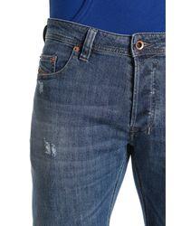 DIESEL Blue Safado Pantaloni Regular Slim Straight Fit Jeans for men