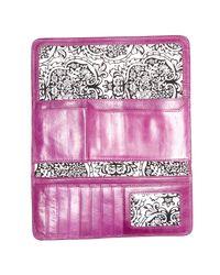 Hobo - Purple Vintage Sadie Trifold Leather Wallet - Lyst