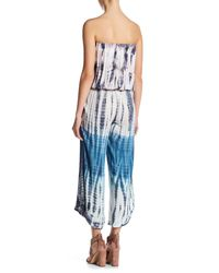 Young Fabulous & Broke - Blue Avianna Strapless Jumpsuit - Lyst