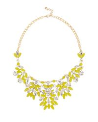 BaubleBar | Yellow Moscow Collar Necklace | Lyst