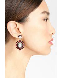 BaubleBar - Red 'lookinglass' Drop Earrings - Lyst