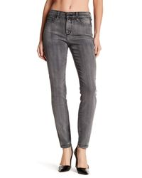 NYDJ - Gray Ami Super Skinny Leg Jeans - Lyst