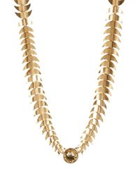 House of Harlow 1960 - Metallic Dorado Link Necklace - Lyst