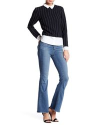 PAIGE | Blue Bell Canyon High Rise Flare Jean (petite) | Lyst