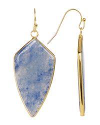 Panacea - Blue Short Arrow Drop Earrings - Lyst