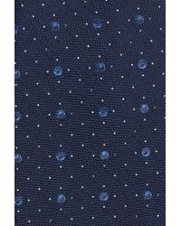 Calibrate - Blue 3d Dot Silk Tie for Men - Lyst