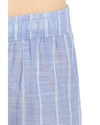 Pj Salvage - Blue Stripe Pajama Pants - Lyst