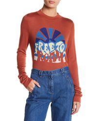 Free People - Multicolor Throwback Long Sleeve Tee - Lyst