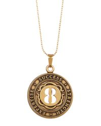 ALEX AND ANI | Metallic Numerology Number 8 Charm Adjustable Necklace | Lyst