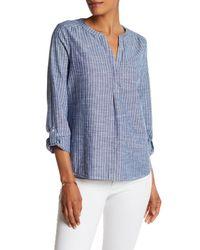 Joie - Blue Kalan Stripe Shirt - Lyst