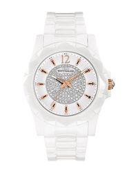 Bulova - Metallic Women's Elena Crystal Bracelet Watch, 38mm - Lyst