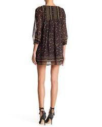 Joie | Black Abba Paisley Silk Dress | Lyst