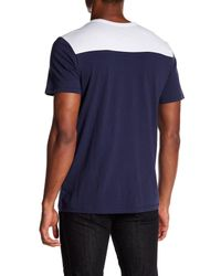 True Religion - Blue Dimes Graphic Short Sleeve Football Tee for Men - Lyst