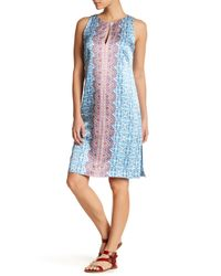 Nanette Lepore | Blue Pretty Porcelain Dress | Lyst