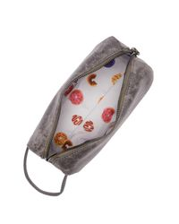 Deux Lux - Gray Movement Cosmetic Pouch - Lyst