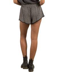 Volcom - Black Simple Things Shorts - Lyst