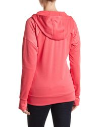 The North Face | Pink Suprema Front Zip Hoodie | Lyst