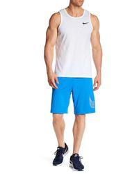 Nike - Blue Dri-fit Fly Training Short for Men - Lyst