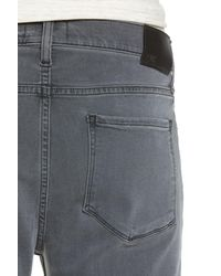 PAIGE - Gray Federal Slim Straight Leg Jeans (aldridge) for Men - Lyst