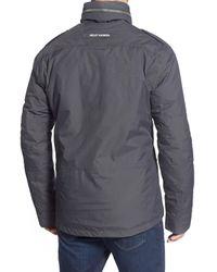 Helly Hansen - Gray 'universal' Moto Rain Jacket for Men - Lyst