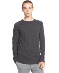 Helmut Lang - Gray Crewneck Sweater for Men - Lyst