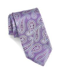 John W. Nordstrom - Purple Melbourne Paisley Silk Tie for Men - Lyst