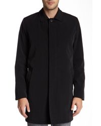 Kenneth Cole - Black Rally Rain Top Coat for Men - Lyst