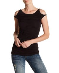 Bailey 44 - Black Charming Cold Shoulder Blouse - Lyst