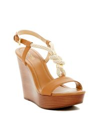 MICHAEL Michael Kors | Multicolor Holly Wedge Sandal | Lyst