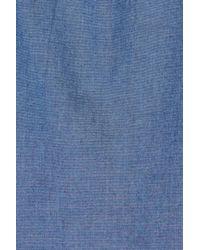 Gant - Blue Tech Slim Fit Varsity Stripe Sport Shirt for Men - Lyst
