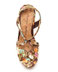 Chinese Laundry - Brown Party Time High Heel Sandal - Lyst