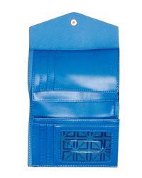 Lodis - Blue Rachel Leather Wallet - Lyst