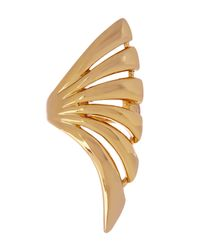Rachel Zoe | Metallic Cutout Fan Ring - Size 6.5 | Lyst