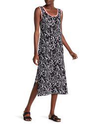 Tommy Bahama - Black Scoop Neck Print Dress - Lyst