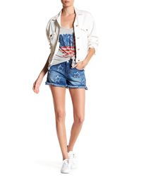 Jessica Simpson - Blue Journey Denim Short - Lyst