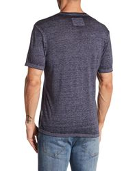 American Needle - Blue Heathered Burnout V-neck Tee for Men - Lyst