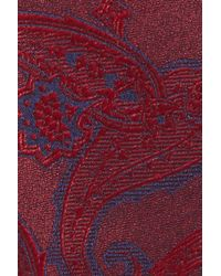 Calibrate - Red Floating Paisley Silk Bow Tie for Men - Lyst