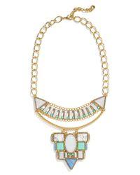 BaubleBar | Metallic Marquessa Statement Necklace | Lyst