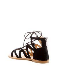 Dolce Vita - Black Janee Gladiator Sandal - Lyst