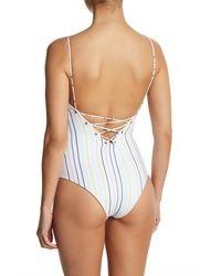 Tavik - Multicolor Monahan Lace-up One-piece Swimsuit - Lyst