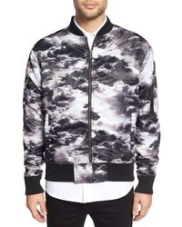 Zanerobe | Multicolor Clouds Bomber Jacket for Men | Lyst