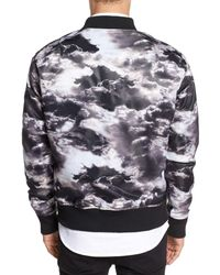 Zanerobe - Multicolor Clouds Bomber Jacket for Men - Lyst