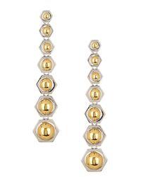 Rachel Zoe | Metallic Mia Sphere Drop Earrings | Lyst