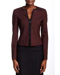BOSS - Multicolor Jileo Wool Blend Jacket - Lyst