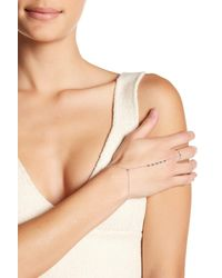 Gorjana - Metallic Bali Ring-to-wrist Bracelet - Lyst