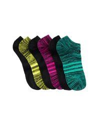 Adidas Originals   Green Climalite Superlite No Show Socks - Pack Of 6 (women)   Lyst
